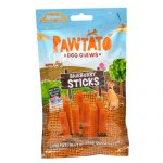 Pawtato Vegan Dog Chews - Blueberry Sticks