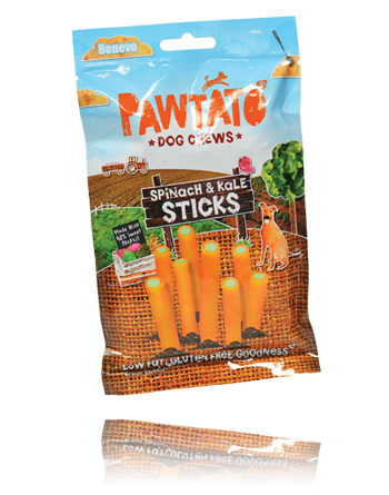 Pawtato - The healthy and ethical rawhide alternative