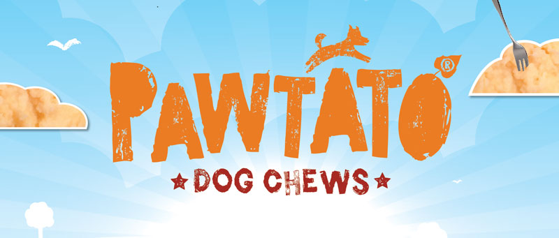Pawtato Dog Chews - The healthy and ethical rawhide alternative