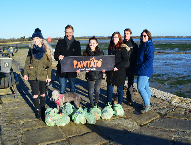 Benevo Beach Clean - 80ltres of litter in one lunch hour!